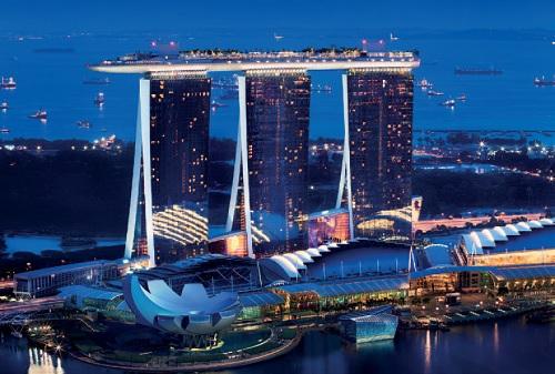 Alfa Laval en el MarinaBay de Singapour