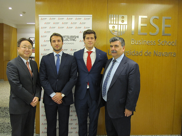 Beca Emprendimiento Mitsubishi IESE - Proyecto T-Soluciona