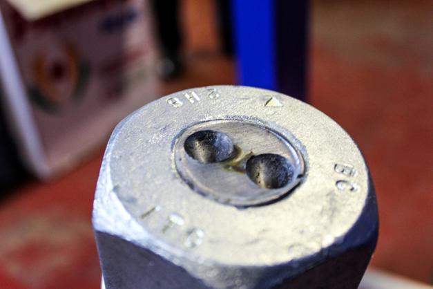 Cabeza fija del tornillo Alfa Laval