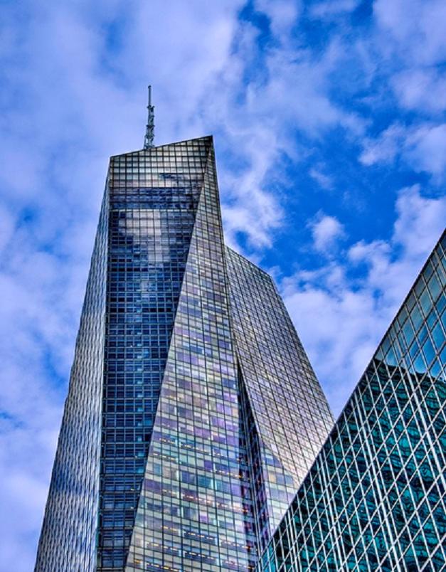 Intercambiadores Alfa Laval en la torre del banco de América