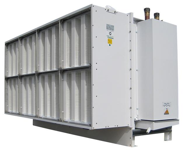 Thor LSV de Alfa Laval para la climatización de CPD.