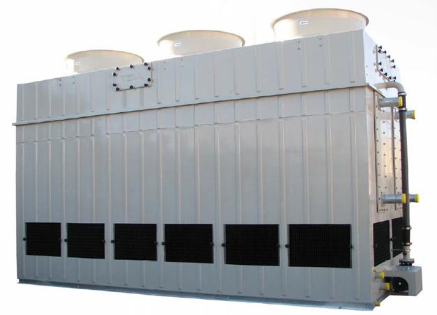 Torre de refrigeración RVA de Teva de poliéster.