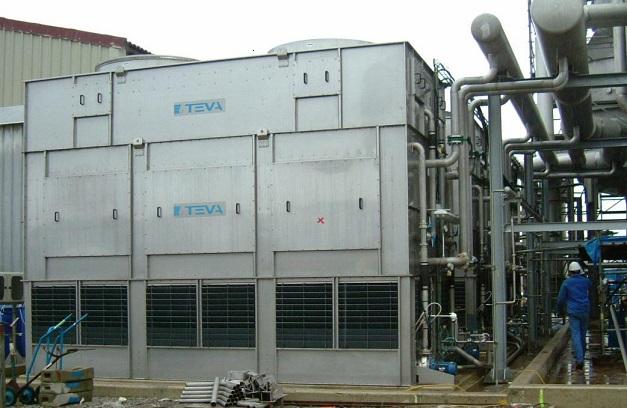 Torre de refrigeración del fabricante Teva