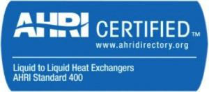 certificado ahri alfa laval