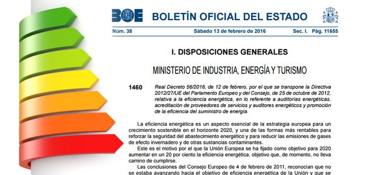 decreto eficiencia energetica