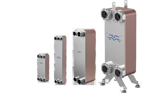 intercambiadores de placas de calor serie CB Alfa laval | T-Soluciona