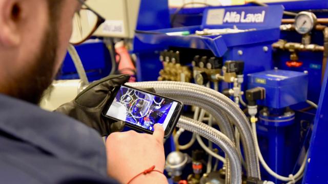 Conoce la nueva herramienta de servicio remoto de Alfa Laval